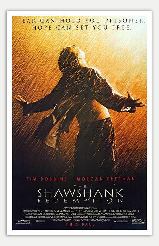 """Shawshank Redemption - 11"""" x 17"""" Movie Poster - Mini Movie ..."""