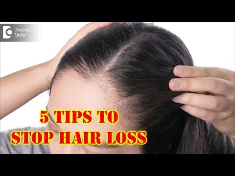 5 Tips on How To Stop Hair Loss And Regrow Hair Naturally