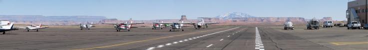 Page Arizona Airport Ramp
