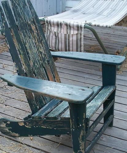 adirondack chair!