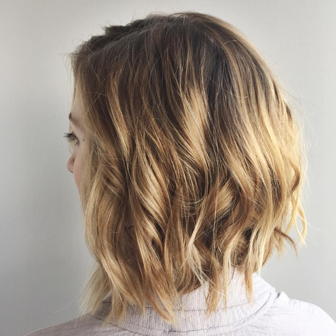 30 Chic Everyday Hairstyles For Shoulder Length Hair Medium