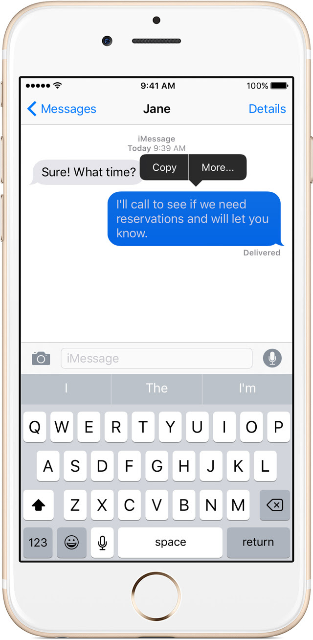 Use Messages with your iPhone, iPad, or iPod touch - Apple Support