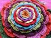 Minaudière fleur au crochet
