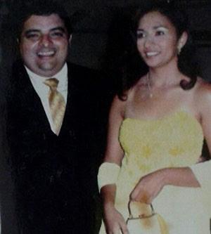 João Dehon ao lado da esposa Margareth Ferreira Monteiro  (Foto: Margareth Ferreira Monteiro/Arquivo Pessoal)