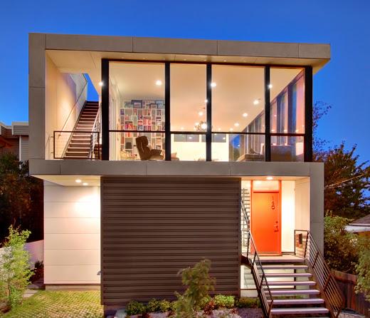 Modern House Design On Small Site Witin A Tight Budget – Crockett ...