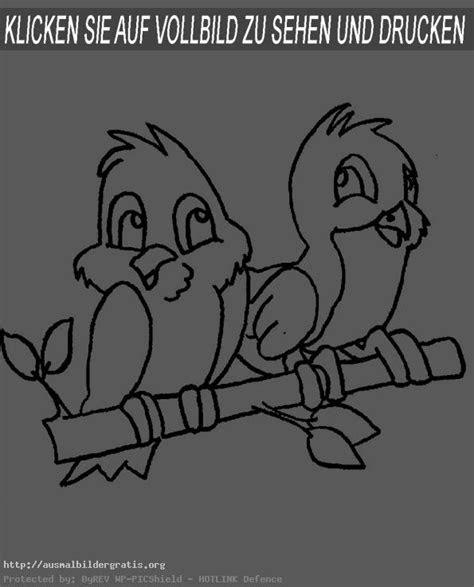 ausmalbilder tiere vogel  kostenlose malvorlagen ideen