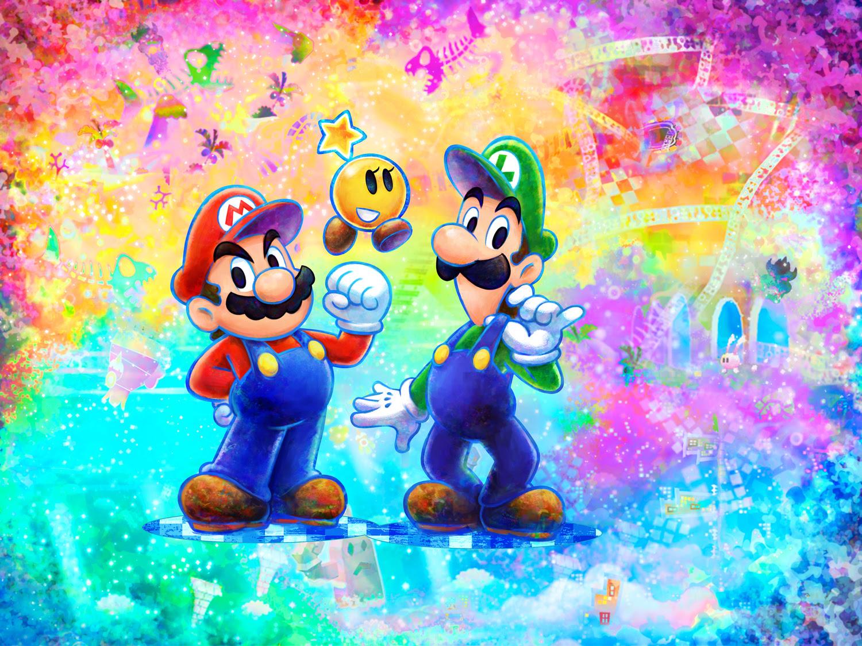 Mario Luigi Dream Team Darkstation