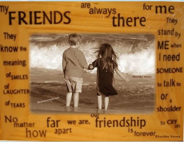 Friends Always There For Me Friendship Quote Quotespicturescom