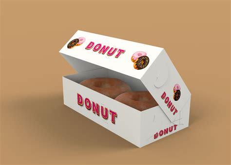 Download Donut Box Mockup - Free Download Mockup