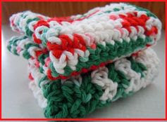 Crochet Christmas Dishcloth Patterns