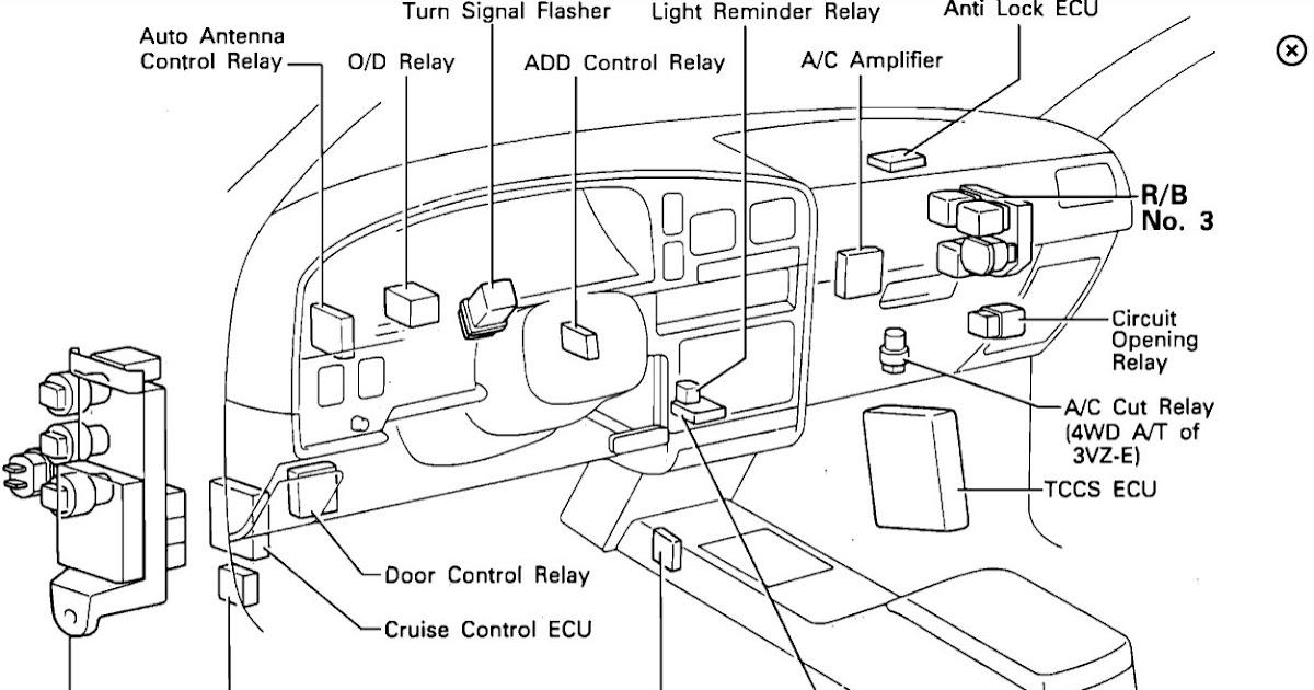 03 toyota 4runner efi wiring toyota 4runner ac relay location  toyota 4runner ac relay location