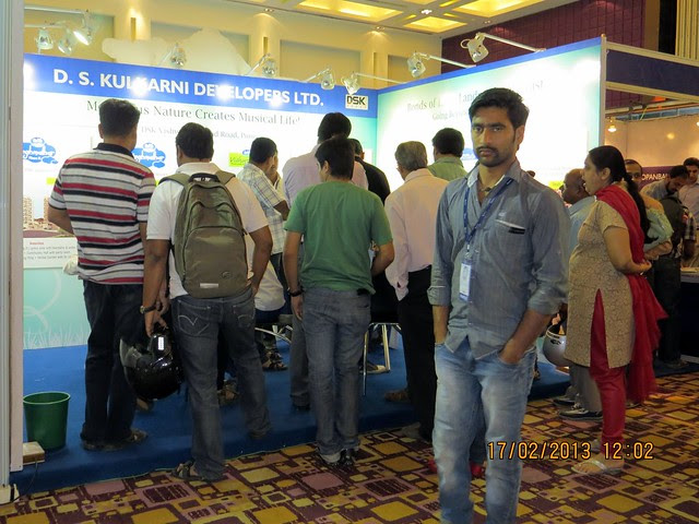 "DSK - The Times of India Pune Property Exhibition  ""Invest in West Pune""  16th & 17th February 2013"
