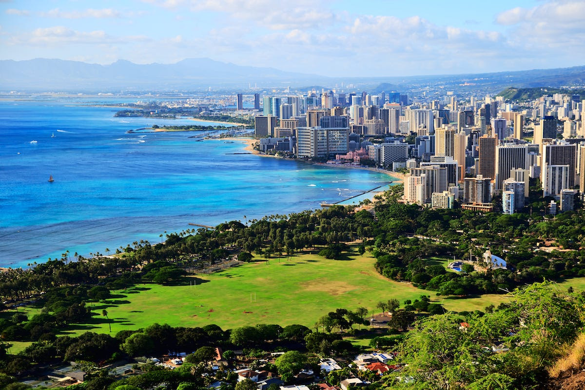 "7. Honolulu, US: The Hawaiian capital was reclassified as a ""major market"" this year with a median multiple of 9.4 after proving to be ""severely unaffordable"" in all 13 previous editions of the survey."