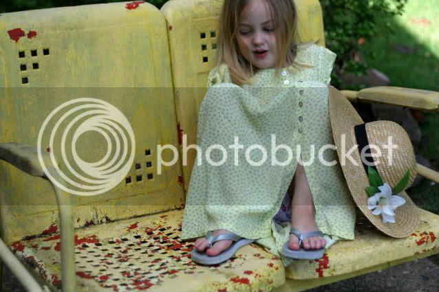 Noelle in old chair