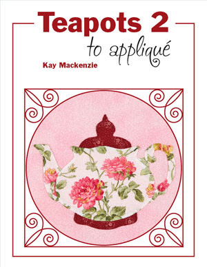 Front Cover of Teapots 2 to Appliqué