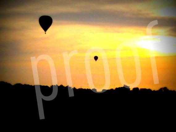 a rising sunset 8x10 print