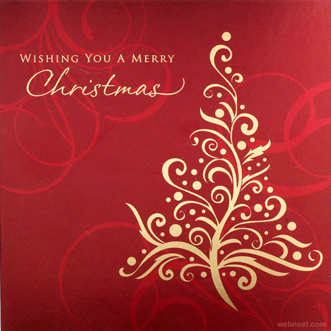 35 Beautiful Christmas Greeting Card Designs and Graphic Resources ...