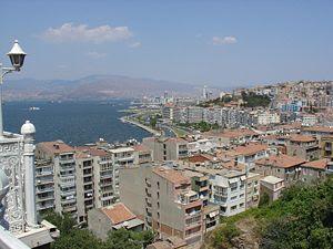 View of İzmir (Izmir, Smyrna), Turkey, as seen...