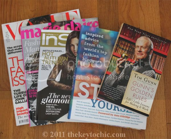 September 2011 fashion magazines, Style Yourself book