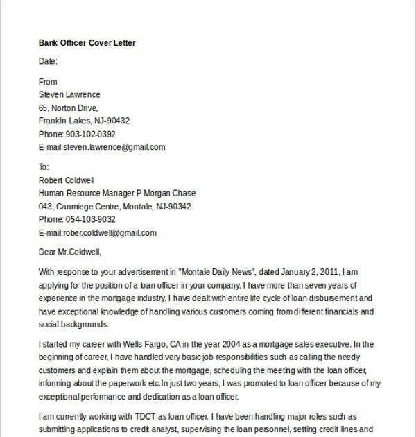 Sample Of Job Application To Bank Bank Teller Cover Letter Example Take Cues From These Job Application Letter Samples To Get The Word Out Pamula Mass