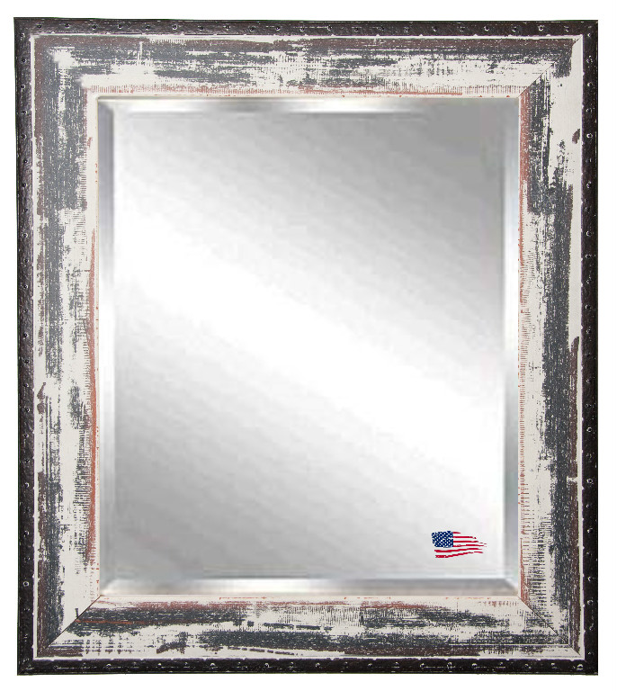 Rayne Mirrors Inc F401418 American Made Rayne Rustic Seaside Frame