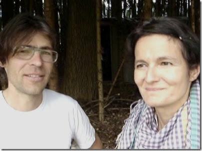Lukas Bardill und Gabriela Gerber in Kaufdorf