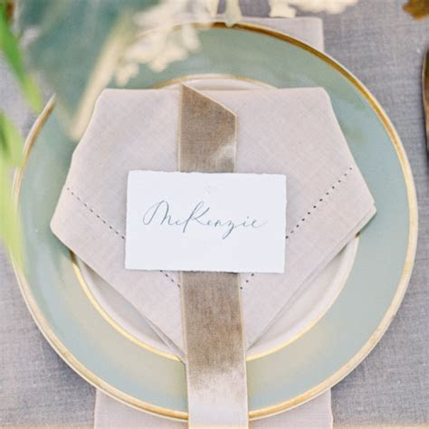 Place Card Rules to Follow (and a Few to Skip)   Martha
