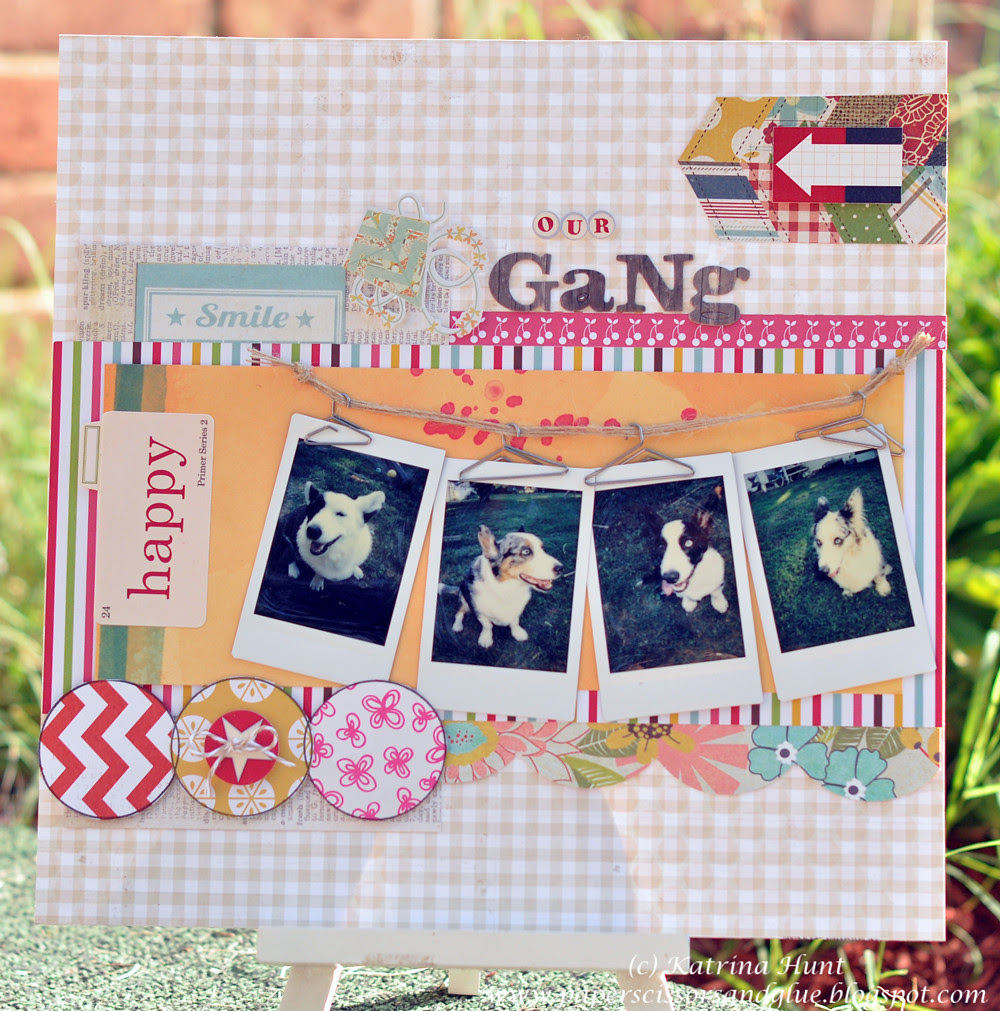 Our Gang-Cocoa Daisy Layout