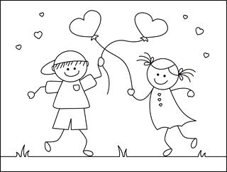 Printable Valentine Cards For Kids | Free Valentine Coloring Cards