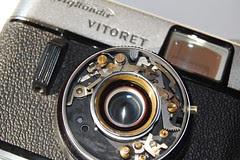 Vitoret CLA mid lens retainer assembled