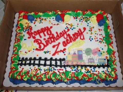 Coolest Thomas Train Cake