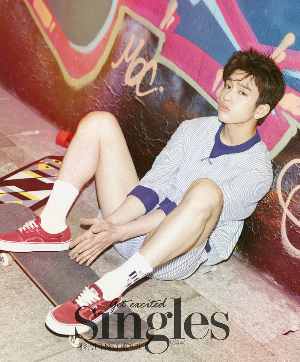 GOT7 JR - Singles Magazine July Issue '15
