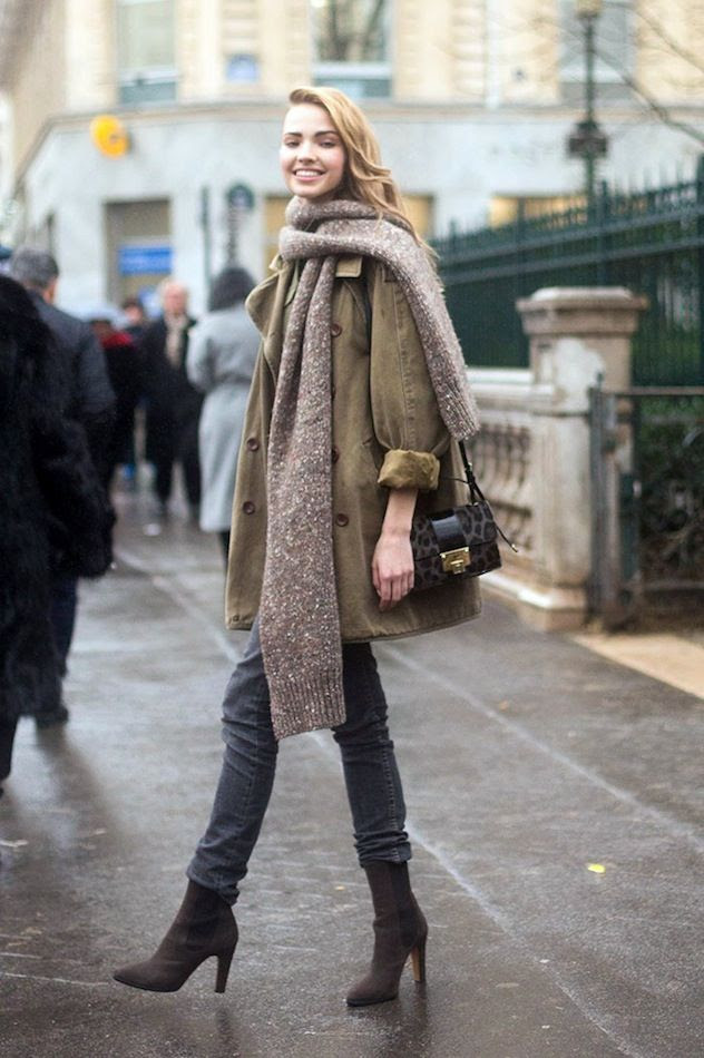 Le Fashion Blog Model Off Duty Street Style Paris Sasha Luss Chunky Scarf Trench Coat Leopard Print Mini Bag Jeans Suede Boots photo Le-Fashion-Blog-Model-Off-Duty-Street-Style-Paris-Sasha-Luss-Chunky-Scarf-Trench-Coat-Leopard-Print-Mini-Bag-Jeans-Suede-Boots.jpg