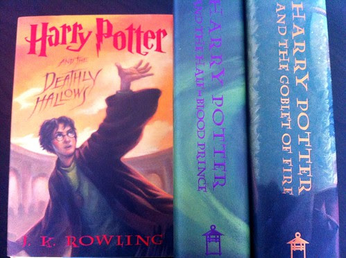 Harry Potter Series Bookes
