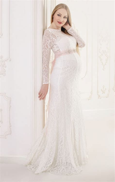 How to Choose Maternity Wedding Dresses   All For Fashions