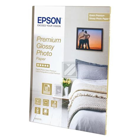 epson premium glossy fotopapier    blatt