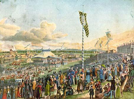 Munich in 1810