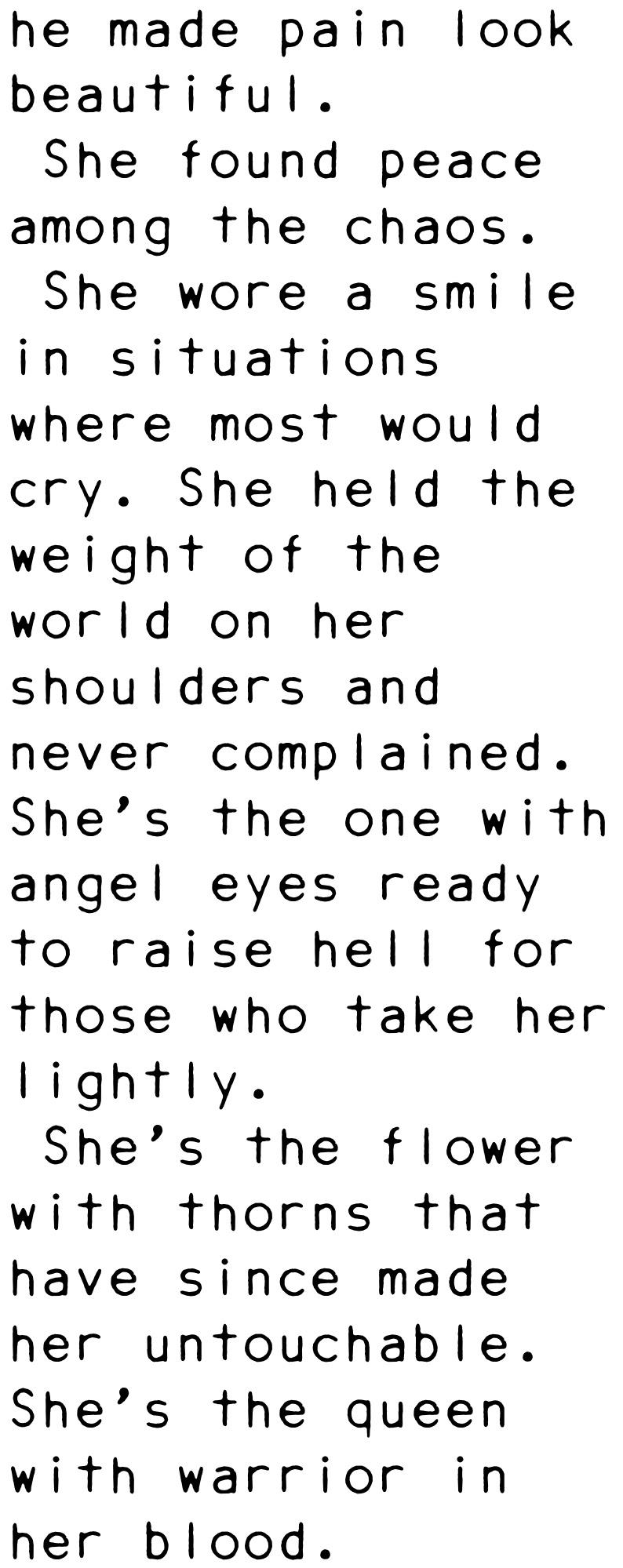 He Made Pain Look Beautiful She Found Peace Among The Chaos She