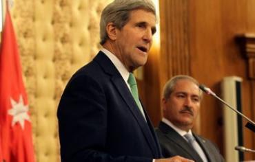 John Kerry at Amman press conference