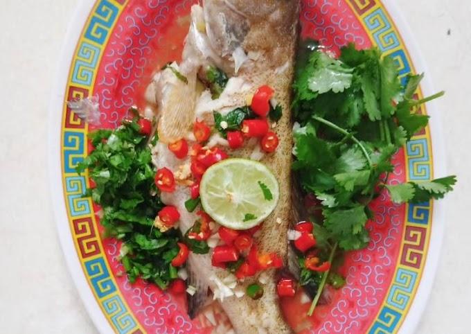 Resep Ikan Kerapu Tim Ala Thailand Anti Gagal