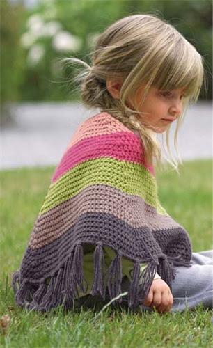 Bergere de France Poncho Crochet Pattern