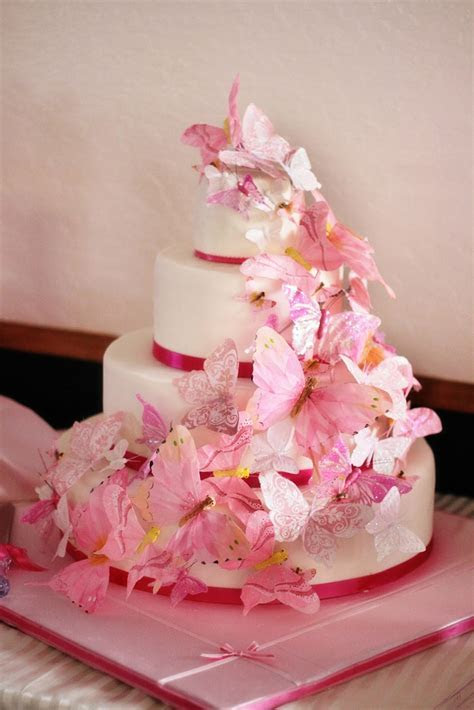Wedding Cakes Pictures: Butterfly Wedding Cake Decorations