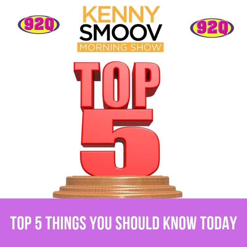 Top 5 Things You Should Know Today 12 24 18 Wqqk Fm