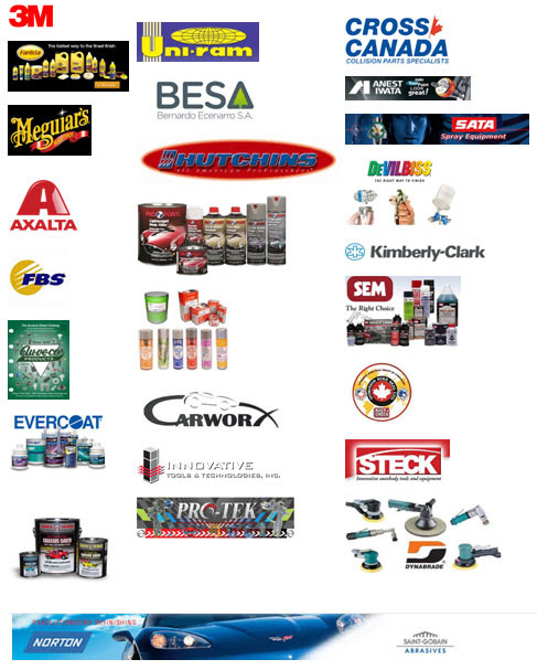 Automotive Paint and Auto Body Repair Supplies in Edmonton ...