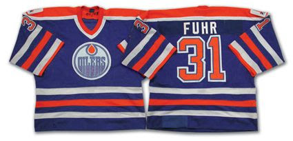 Oilers 88-89 jersey Pictures, Images and Photos