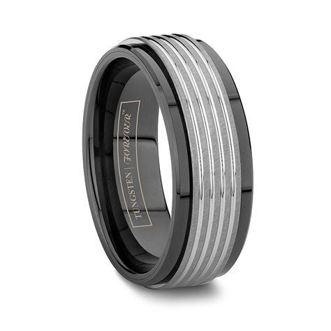 Ceramic Wedding Bands: Tungsten