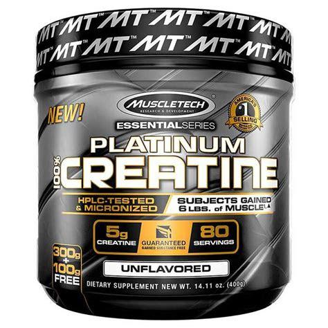 buy muscletech platinum  creatine powder