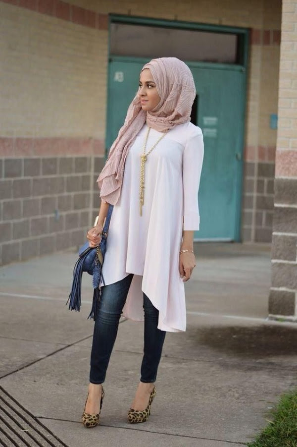Latest Casual Wear Hijab Styles With Jeans 2016 2017 Hijab Style 46