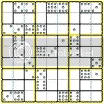 Domino Sudoku Puzzle