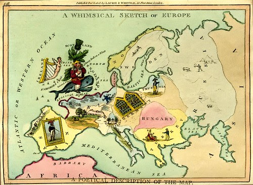 A Whimsical Sketch of Europe, 1806